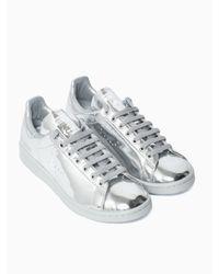 Adidas By Raf Simons   Metallic Stan Smith Sneakers   Lyst