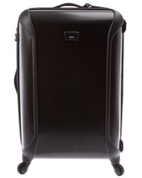 Tumi Black Hardshell Suitcase for men