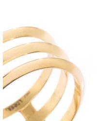 Ileana Makri | Metallic Triple Disc Gold Ring | Lyst