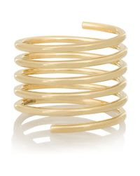 Sophie Bille Brahe - Metallic Pirouette Grand Ressort 14-Karat Gold Diamond Ring - Lyst