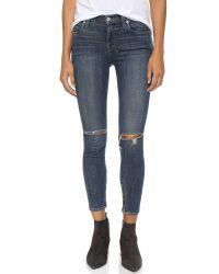 Ksubi Blue Spray On Jeans