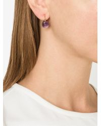 Pomellato - Metallic Amethyst Drop Earrings - Lyst
