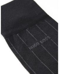 BOSS Black Black George Stripe Socks for men