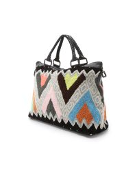 Cleobella - Multicolor Forever Weekender - Geo Embroidery - Lyst