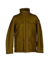 Woolrich Natural Jacket for men