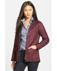 Barbour - Purple 'cavalry' Quilted Jacket - Lyst