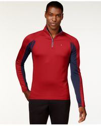 Tommy Hilfiger | Red Jose Quarter-zip Performance Shirt for Men | Lyst