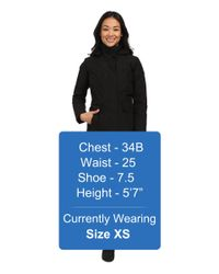 The North Face | Black Suzanne Triclimate® Jacket | Lyst