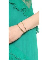 Vita Fede - Metallic Cristiana Pearl Bracelet Goldpearl - Lyst