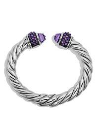 David Yurman - Purple Osetra Bracelet With Amethyst - Lyst
