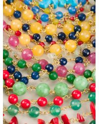 Rosantica - Multicolor Beaded Choker Necklace - Lyst