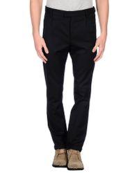 CoSTUME NATIONAL Black Casual Trouser for men