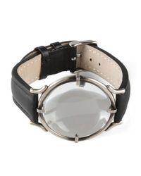 Ann Demeulemeester | Black Faux Watch Bracelet for Men | Lyst