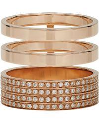 Repossi - Metallic Berbere Module Cage Ring - Lyst