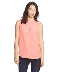 NIC+ZOE - Pink 'noteworthy' Sleeveless Top - Lyst