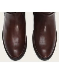 Frye | Brown Shirley Riding Plate | Lyst