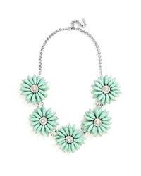 BaubleBar | Green 'poppy' Collar Necklace | Lyst