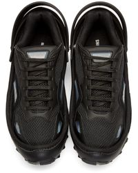 Raf Simons Black Adidas By Response Trail Sneakers for men