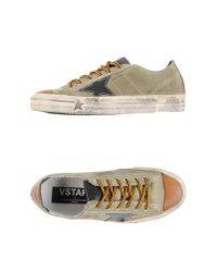 Golden Goose Deluxe Brand | Green Low-tops & Trainers | Lyst