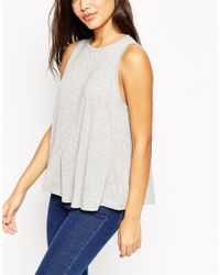 ASOS | Black Swing Vest With Drape 3 Pack Save 15% | Lyst
