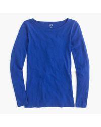 J.Crew | Blue Long-sleeve Painter T-shirt | Lyst