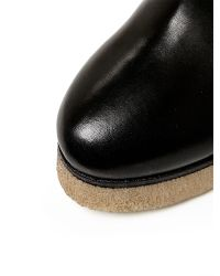 Moda In Pelle Black Carlona High Casual Short Boots