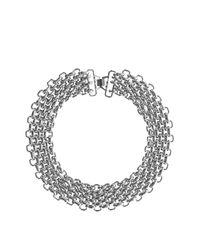 Coast - Metallic Chunky Chain Necklace - Lyst