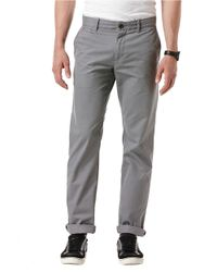 Original Penguin | Gray Relaxed Fit Chino Pants for Men | Lyst