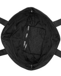 LeSportsac Black Large Quilted Travel Tote