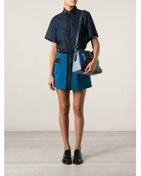 KENZO - Blue Kalifornia Shoulder Bag - Lyst