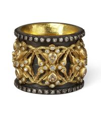 Armenta - Yellow Wing Of Fortune Ring - Lyst