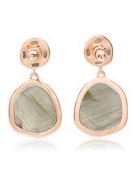 Monica Vinader - Metallic Siren Medium Drop Earrings - Lyst