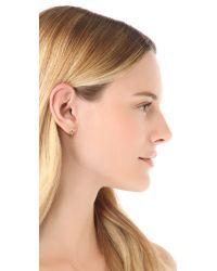 Gorjana - Metallic Delano Deco Stud Earrings - Lyst