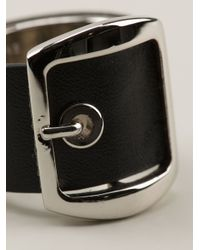 Givenchy | Black Buckled Ring | Lyst