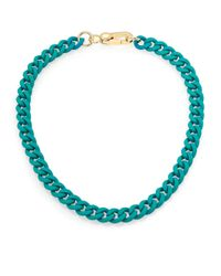 Marc By Marc Jacobs - Green Rubber Chain Necklace - Lyst