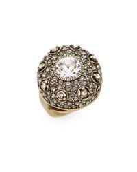 Heidi Daus   Metallic Infusion Of Color Swarovski Crystal Ring   Lyst