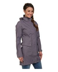 The North Face | Gray Quiana Rain Jacket | Lyst