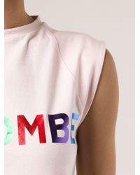 Être Cécile Pink 'La Bombe' T-Shirt