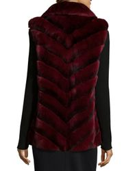Gorski | Gray Rabbit-fur Stand-collar Jacket | Lyst