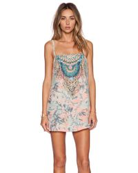 Camilla - Multicolor Short Dress - Lyst