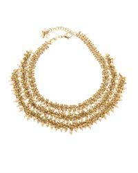 Rosantica By Michela Panero - Metallic Ii Mondo Agate Bead Necklace - Lyst