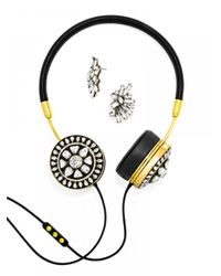 BaubleBar | Metallic Frends X Helios Layla Headphones Set-black | Lyst