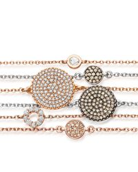 The Icon - Metallic A Little Muse Rose Gold Bracelet - Lyst