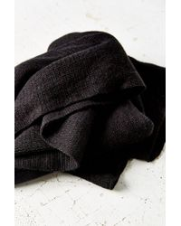 Urban Outfitters Black Femme Super Soft Square Scarf