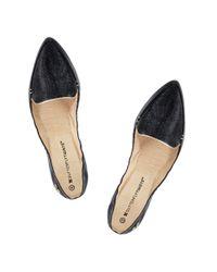 Butterfly Twists Black Ballerina Shoe
