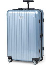 Rimowa | Blue Salsa Air Four-wheel Suitcase 68cm | Lyst