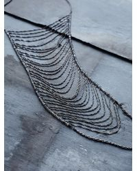 Free People | Metallic Shoshanna Lee Womens Free Falls Chain Necklace | Lyst