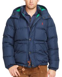 Polo Ralph Lauren | Blue Elmwood Down Jacket for Men | Lyst
