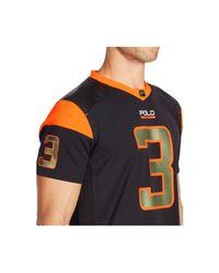 Polo Ralph Lauren - Orange Football Jersey for Men - Lyst