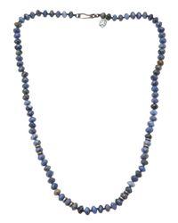 Joseph Brooks | Blue Dumortierite Necklace for Men | Lyst